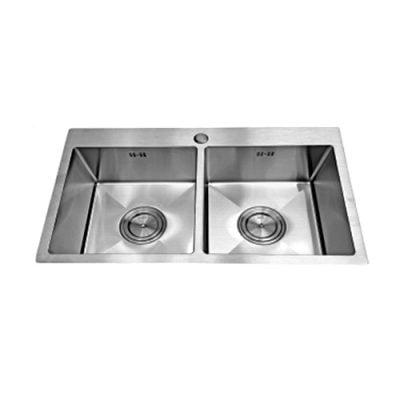 Chậu rửa bát được ép nguyên khối và có bề ngoài sang trọng tinh tế, chất lượng cao