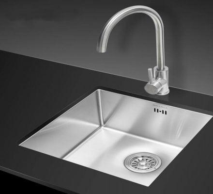 bồn rửa chén âm bàn 1 ngăn A62 là sản phẩm đúc nguyên khối