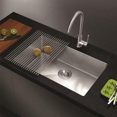 Chậu đơn, với thiết kế đơn giản, tiết kiệm không giản nhưng rất tinh tế, phù hợp với không gian nhỏ