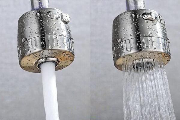 Bộ điều chỉnh nước ở đầu vòi thành một dòng hoặc nhiều tia tiện dụng.