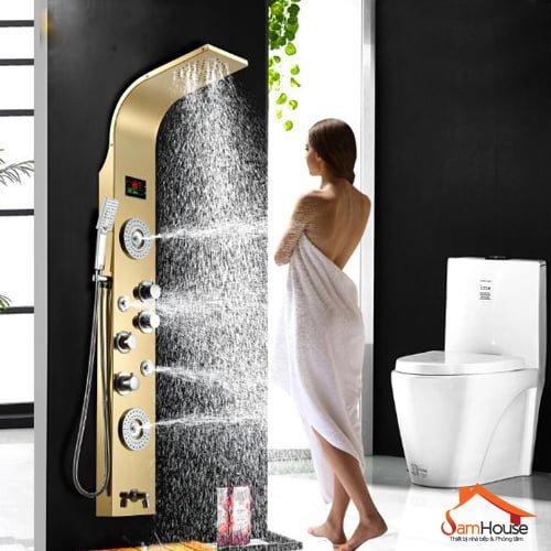 Vòi GL-101 với 3 vòi xịt đóng vai trò như vòi tắm massage hiệu quả